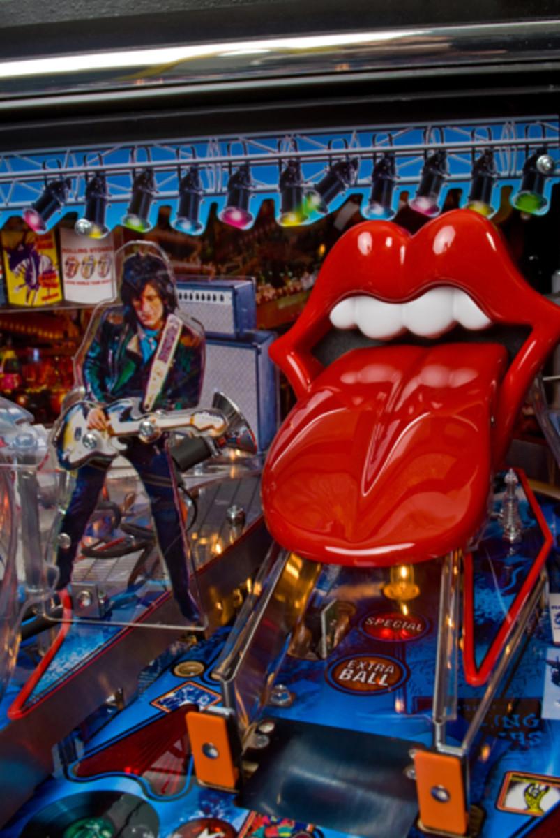 Rolling Stones Pinball Ramp