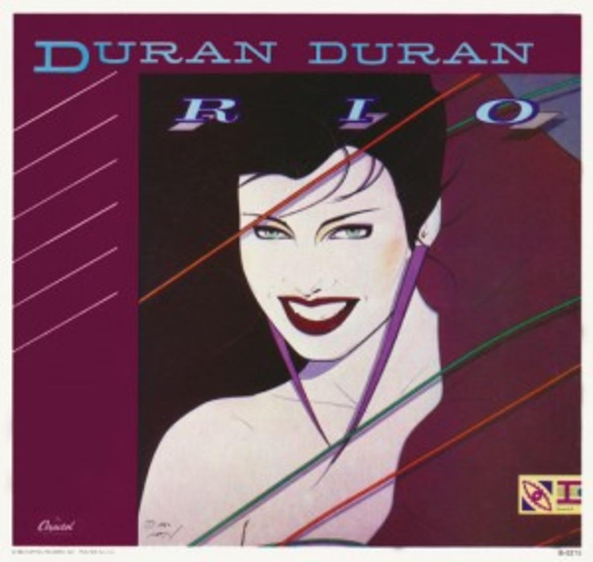 Duran Duran Rio picture sleeve