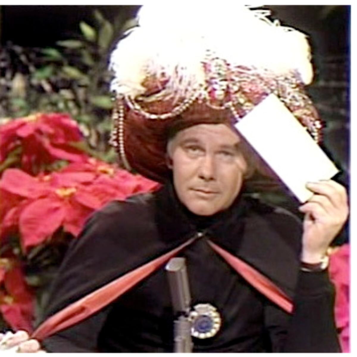 Johnny Carson Carnac The Magnificent