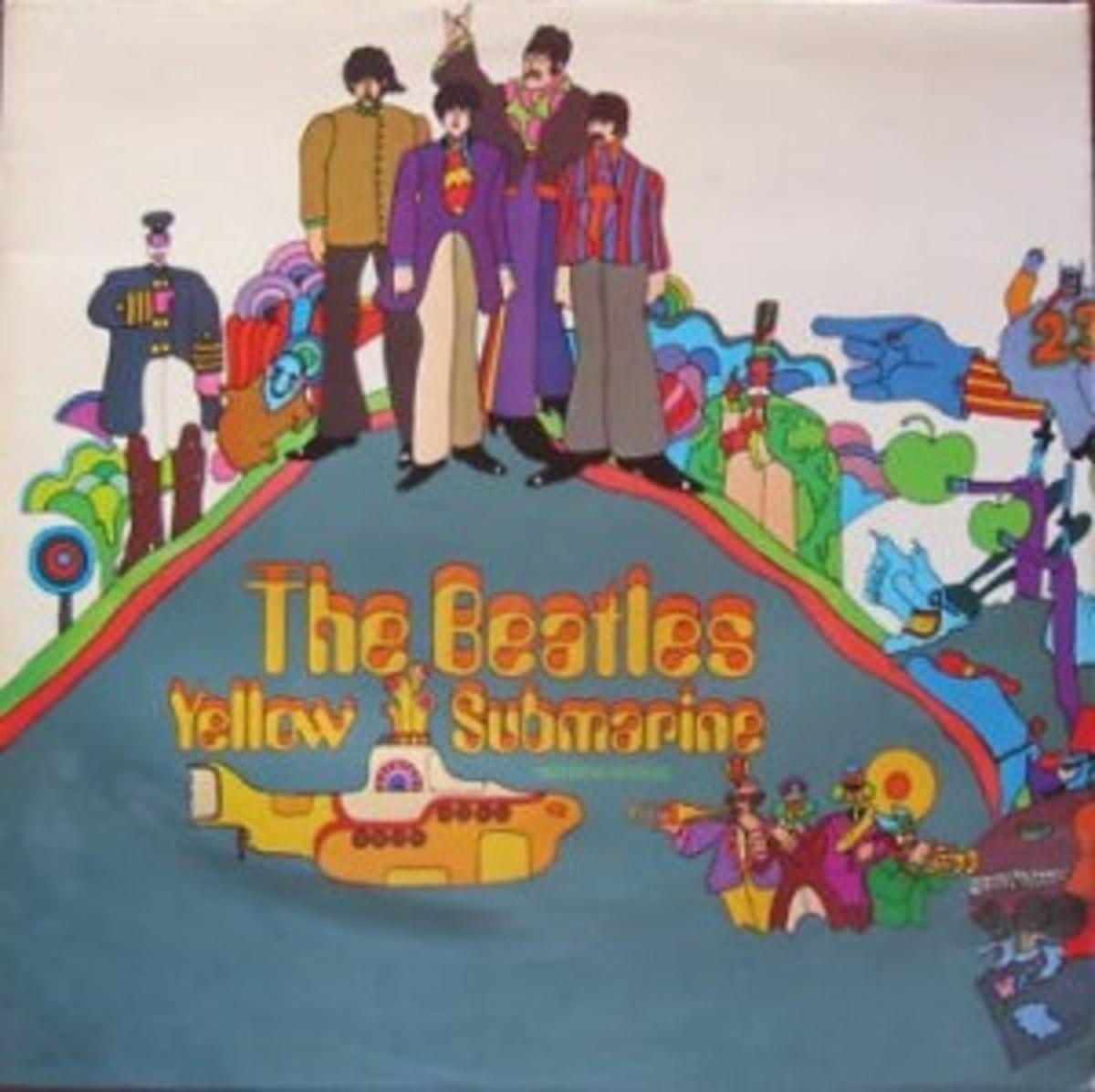 10 BeatlesYellowSubCover
