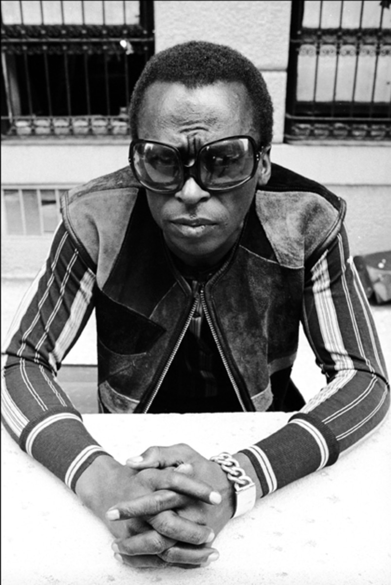 Miles Davis. Photo by Don Hunstein