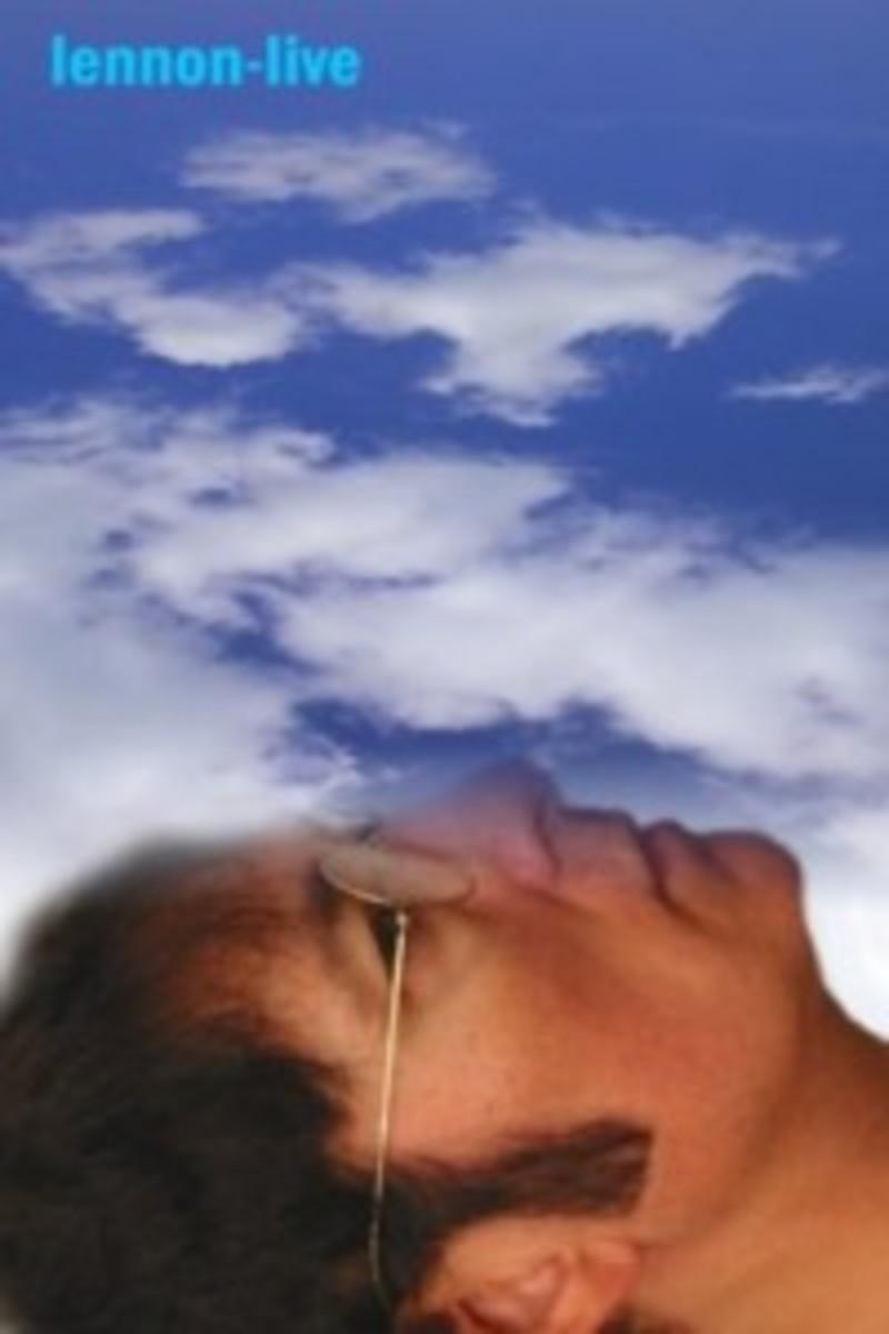 Lennon-Live Clouds promo photo