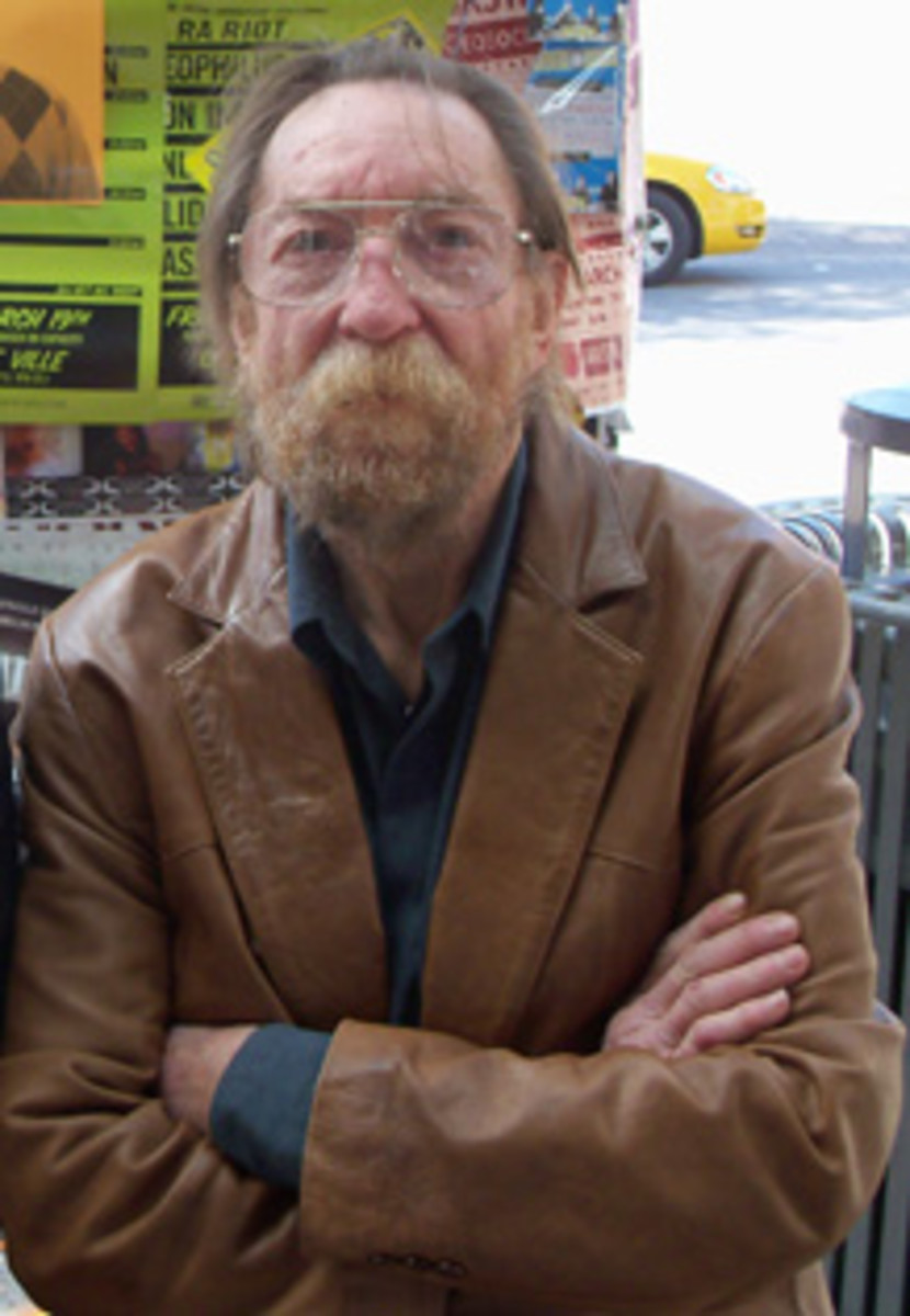 Bob Johnston, March 2010. Photo courtesy of Rush Evans