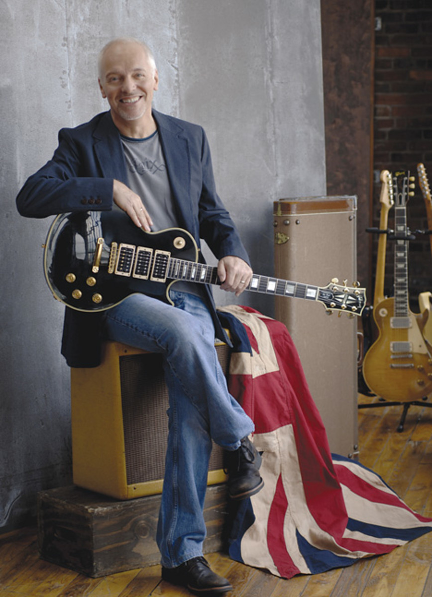 Peter Frampton Publicity photo by David Dobson