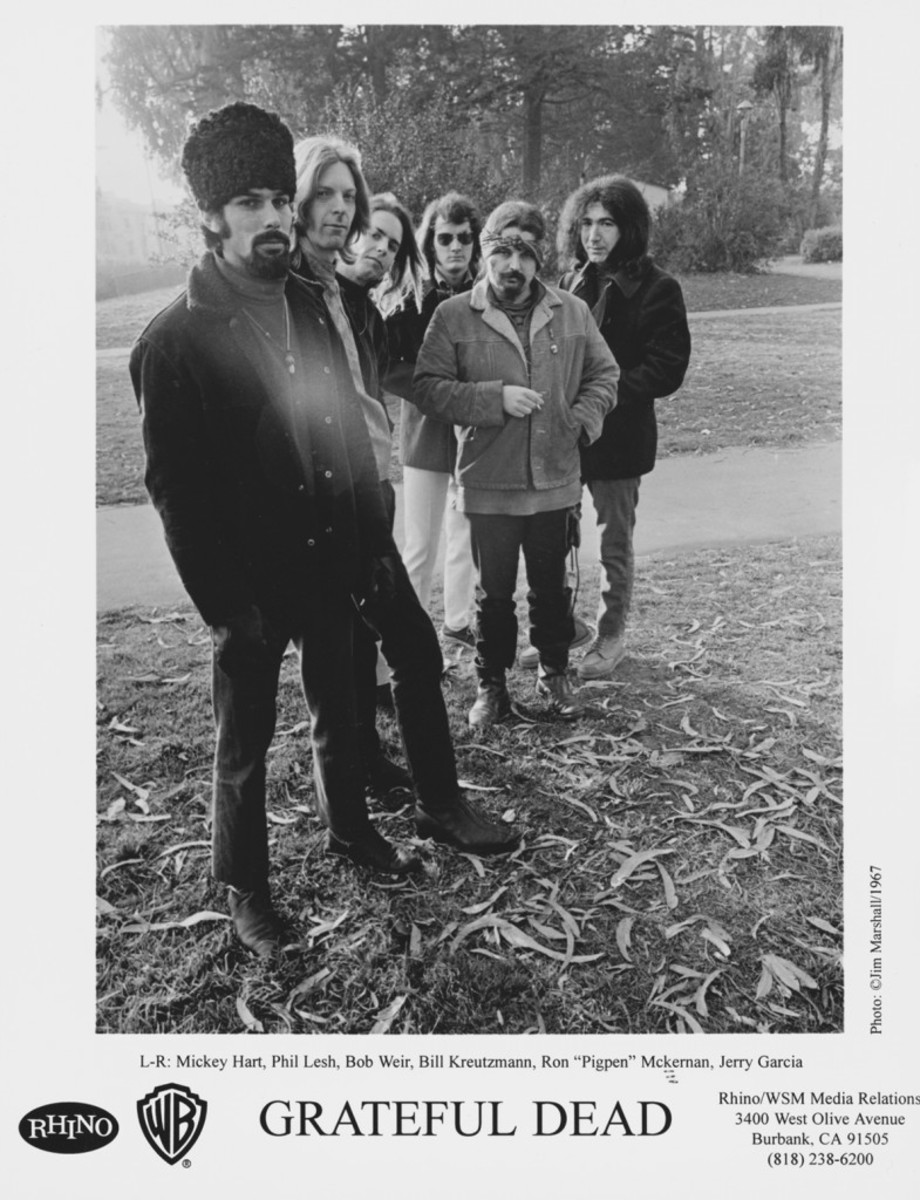 The Grateful Dead in 1967