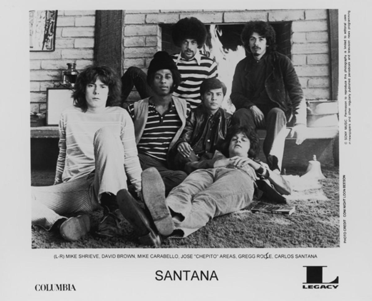 Santana Legacy publicity photo Coni Loon