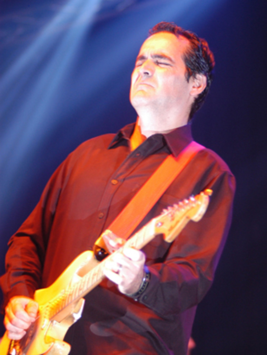Neal Morse also trusts in the spritiual power of his live shows.
