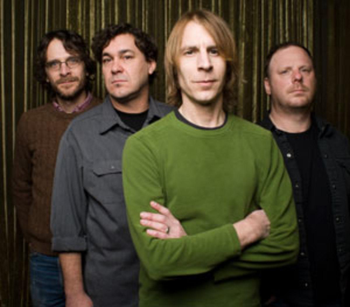 "Mudhoney's Dan Peters (far right) played drums on Nirvana's ""Sliver"" single. Courtesy Sub Pop / Shawn Brackbill"
