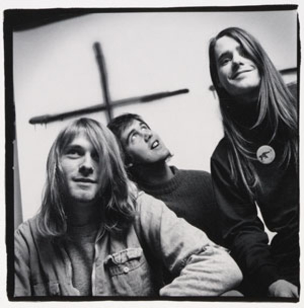 Back in the days of 'Bleach,' it was Chad Channing (far right) behind the drum kit for Nirvana, along with frontman Kurt Cobain and bassist Krist Novoselic. Courtesy Sub Pop Records