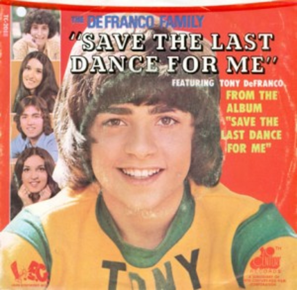 De Franco Family Save The Last Dance For Me picture sleeve
