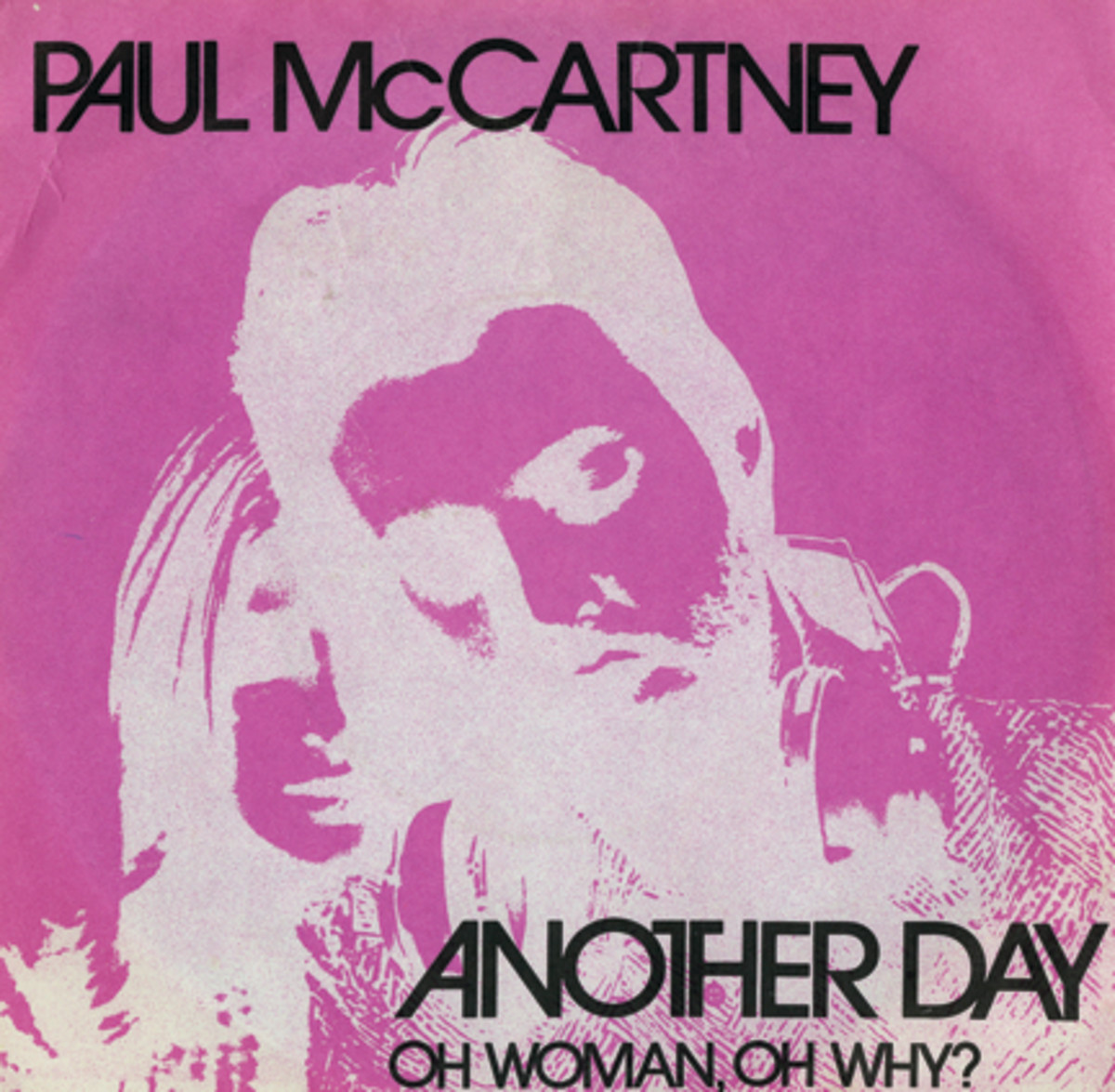 Paul McCartney Another Day Oh Woman Oh Why Picture Sleeve