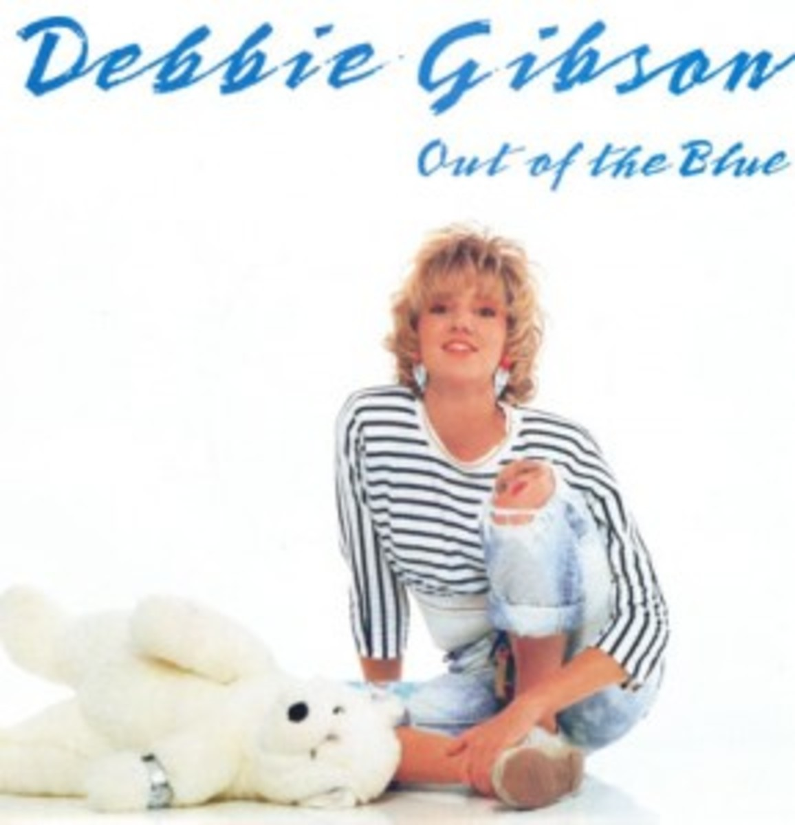 Debbie Gibson Out of The Blue picture sleeve