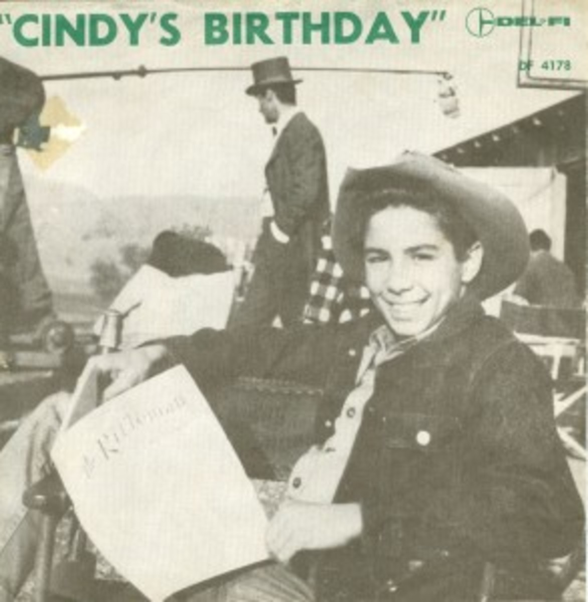 Johnny Crawford Cindy's Birthday Picture Sleeve