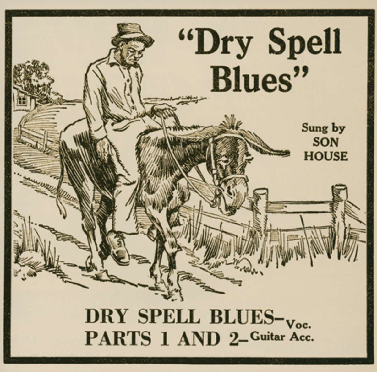Son House Dry Spell Blues Paramount 12990