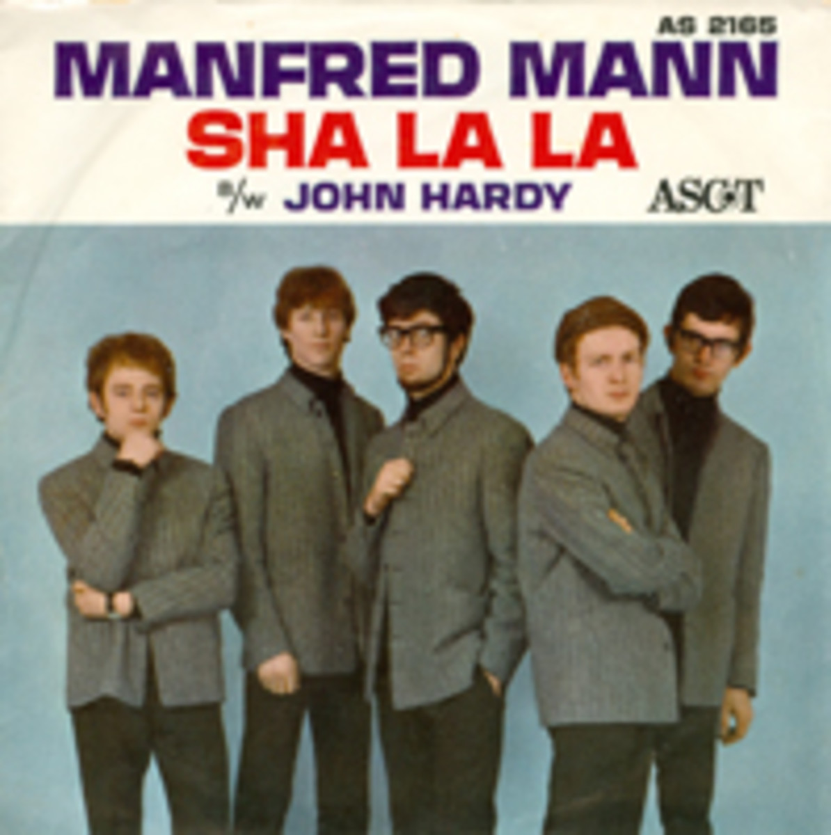 Manfred Mann Sha La La picture sleeve