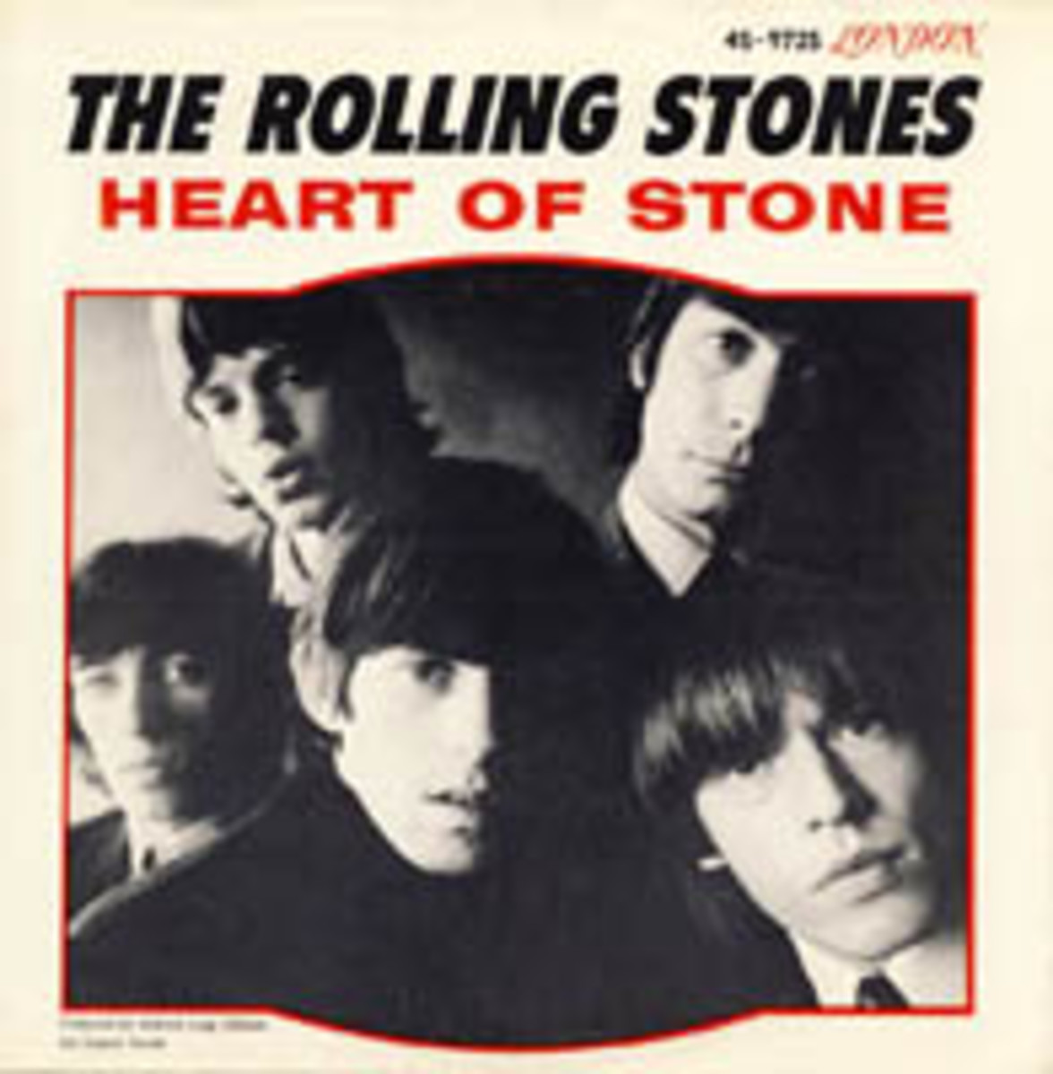 Rolling Stones Heart of Stone Picture Sleeve