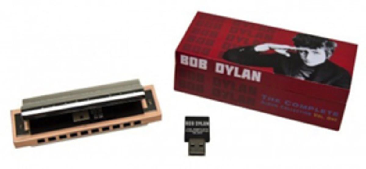 Bob Dylan Box Set USB Harmonica