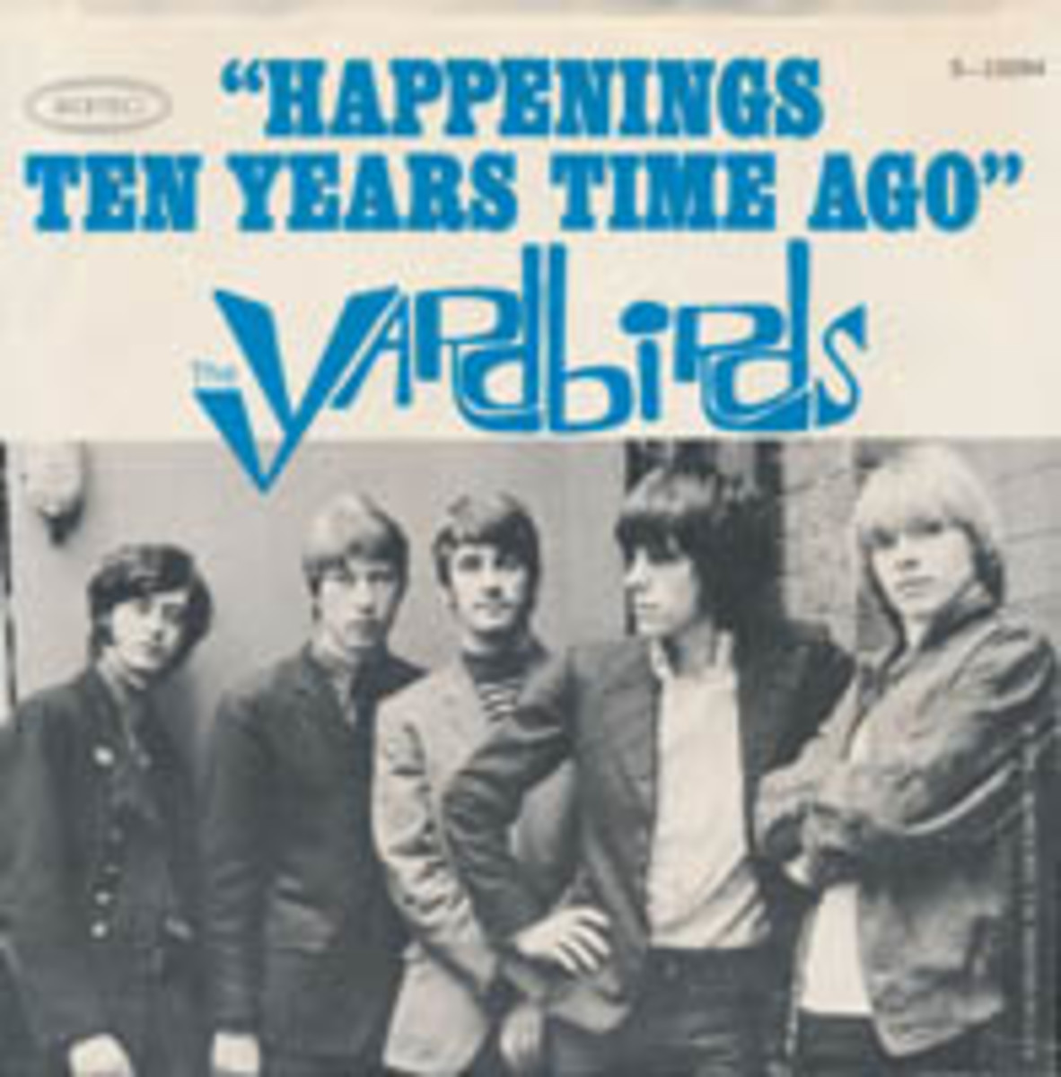 The Yardbirds Happenings Ten Years Ago picture sleeve