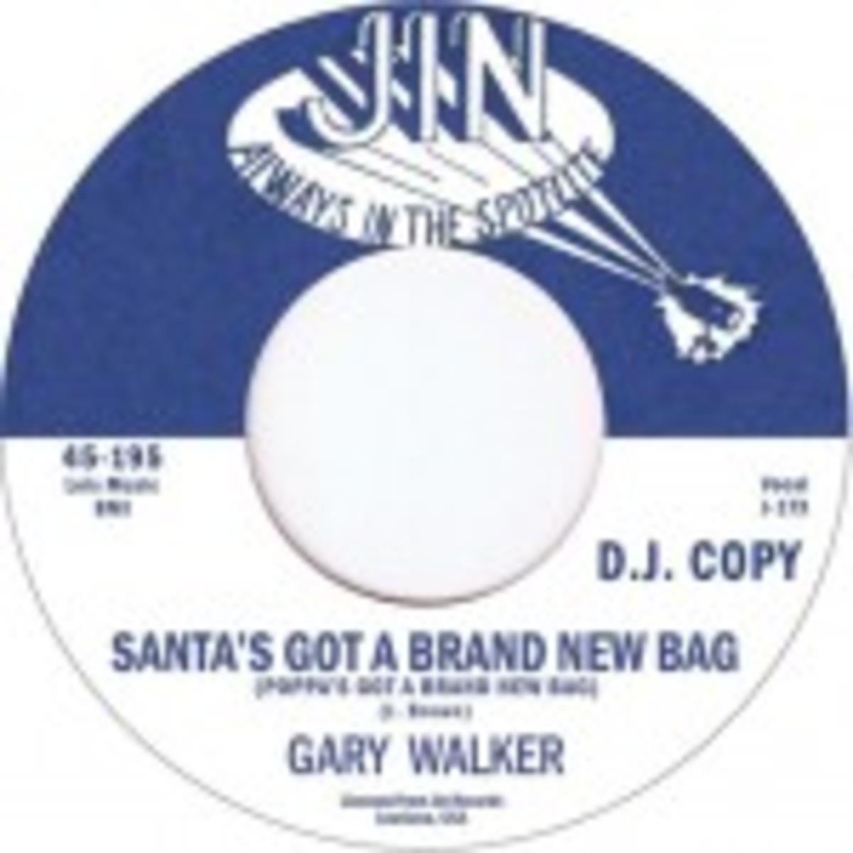 Gary Walker Santa's Got A Brand New Bag