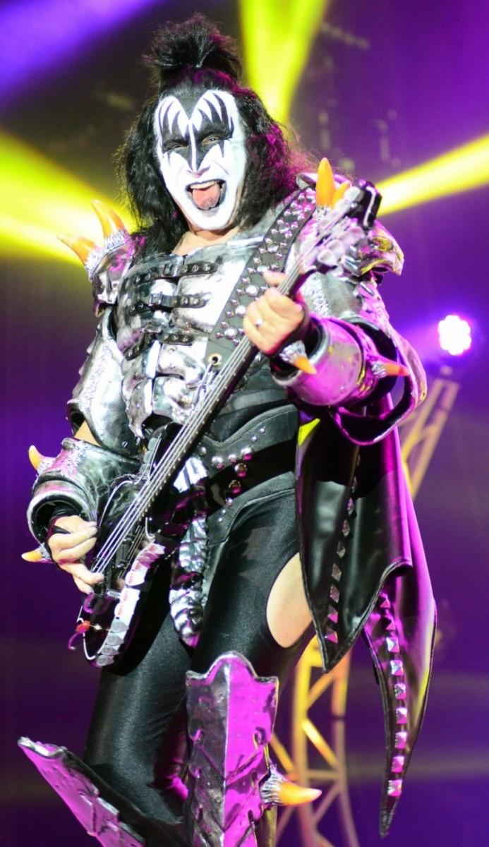 Kiss bassist Gene Simmons. (Photo by Chris M. Junior)