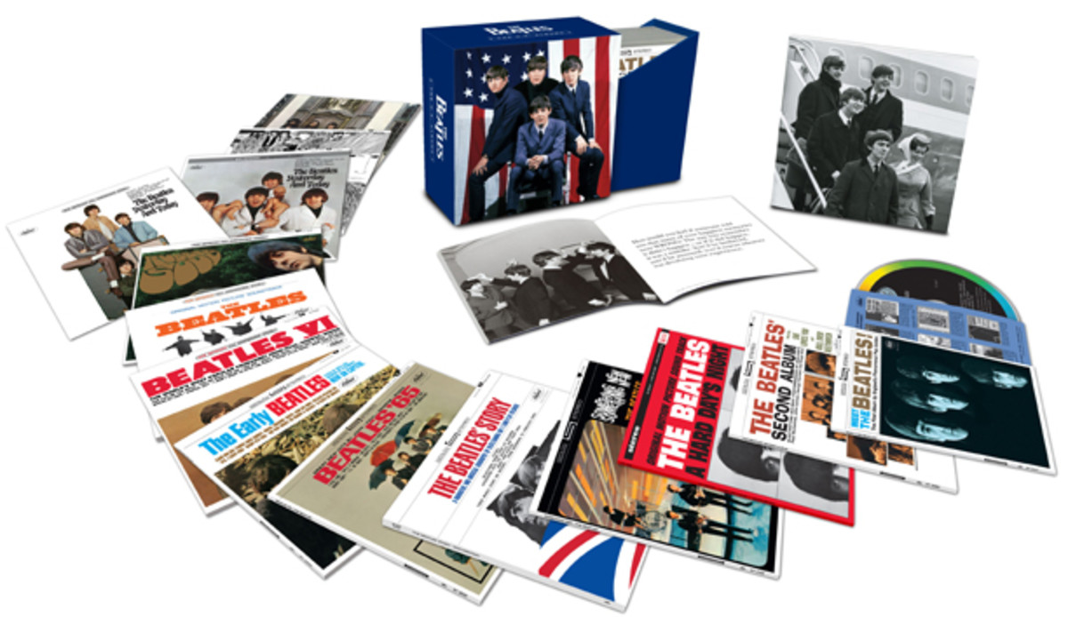 The Beatles' U.S. Albums box set. Photo courtesy Apple Corps limited.