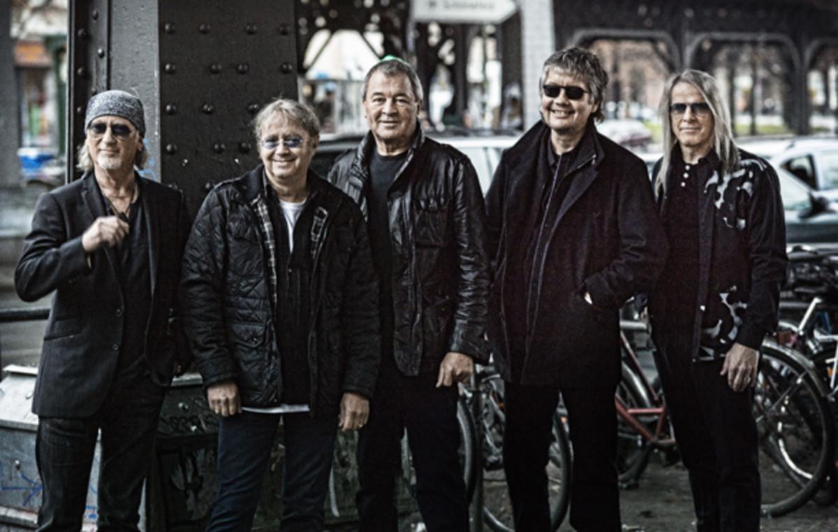 Deep Purple 2013 publicity photo Now What?