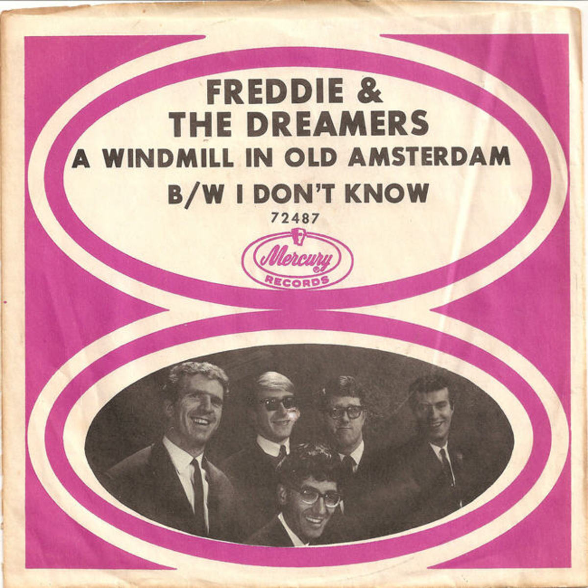 Freddie and the Dreamers I Don't Know picture sleeve