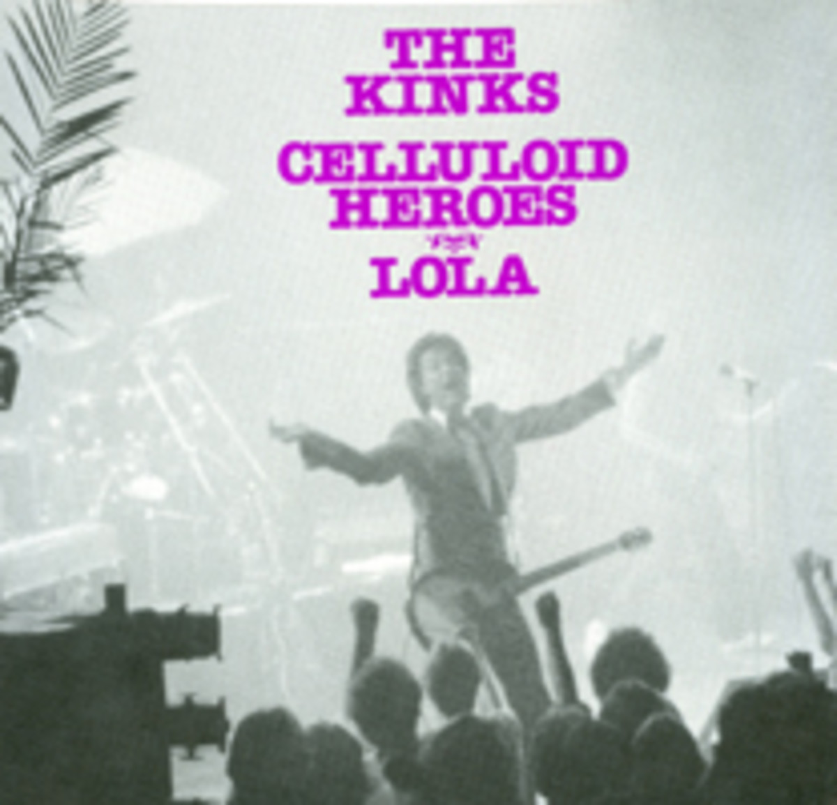 The Kinks Lola Celluloid Heroes picture sleeve