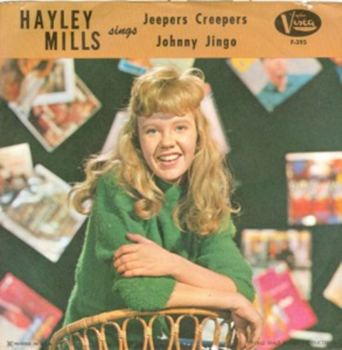 Hayley Mills Jeepers Creepers picture sleeve