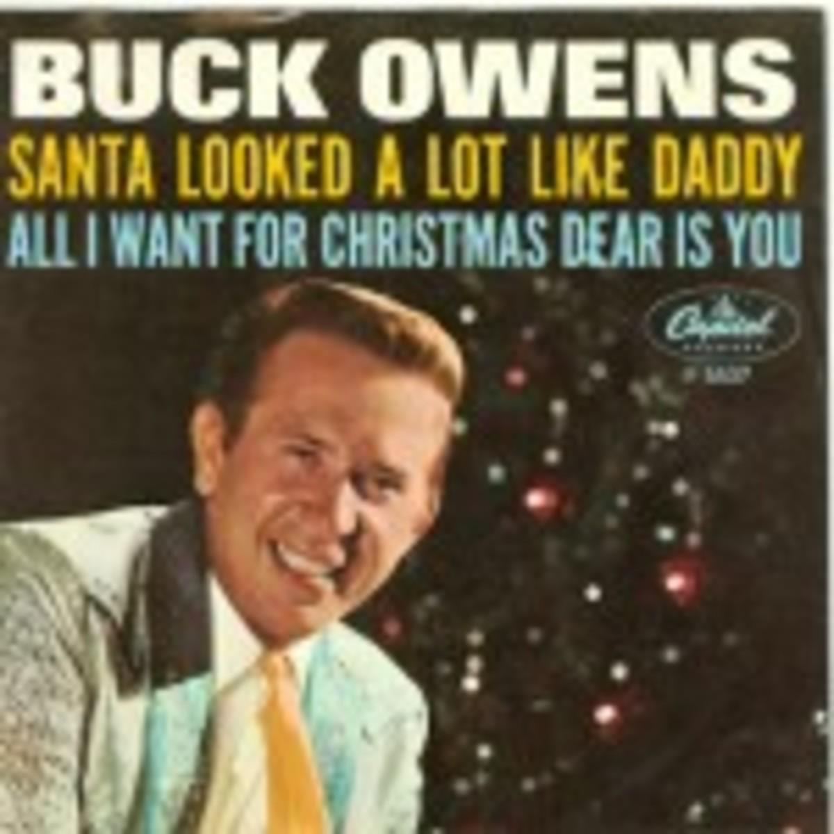 Buck Owens Santa Looked A Lot Like Daddy