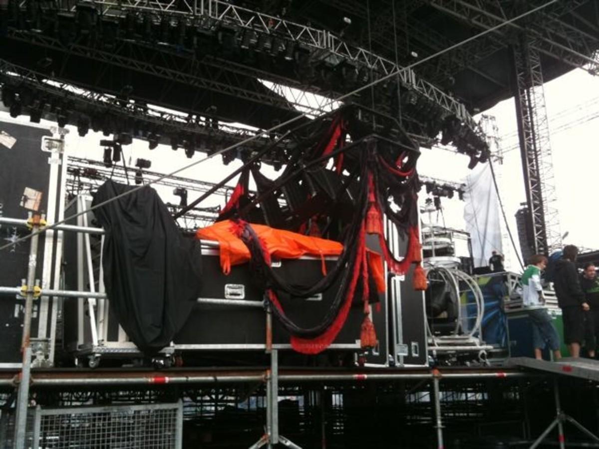 Sonisphere Stage Damage