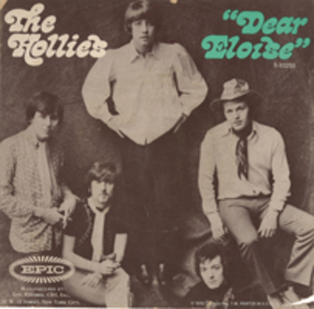The Hollies Dear Eloise picture sleeve