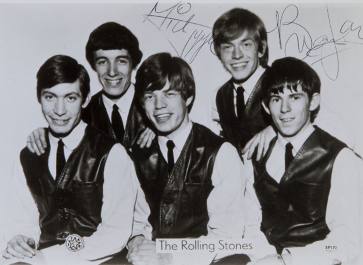Rolling Stones early publicity photo