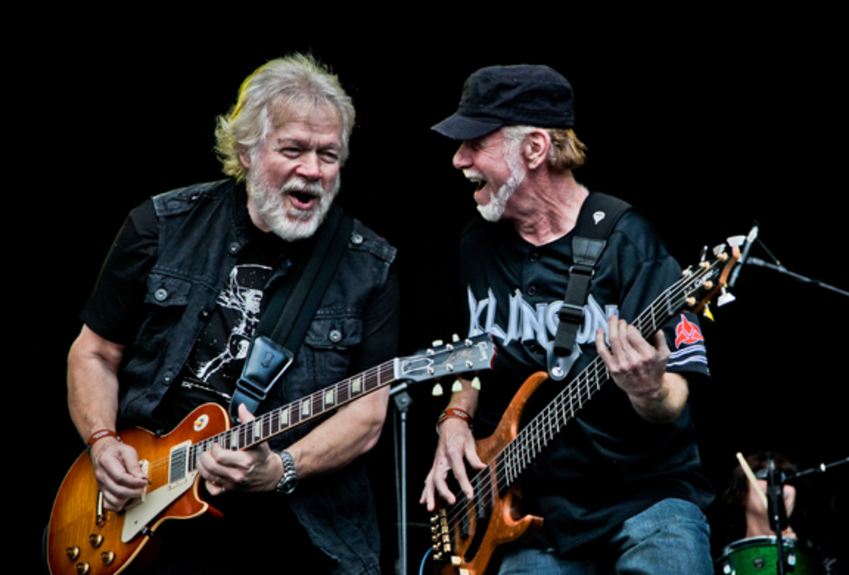 Randy Bachman Fred Turner photo by Christie Goodwin