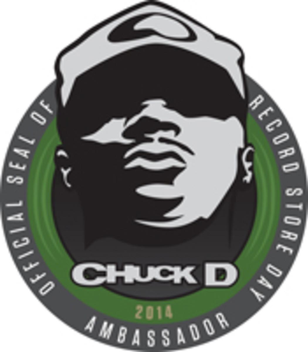 Chuck D Record Store Day Ambassador 2014