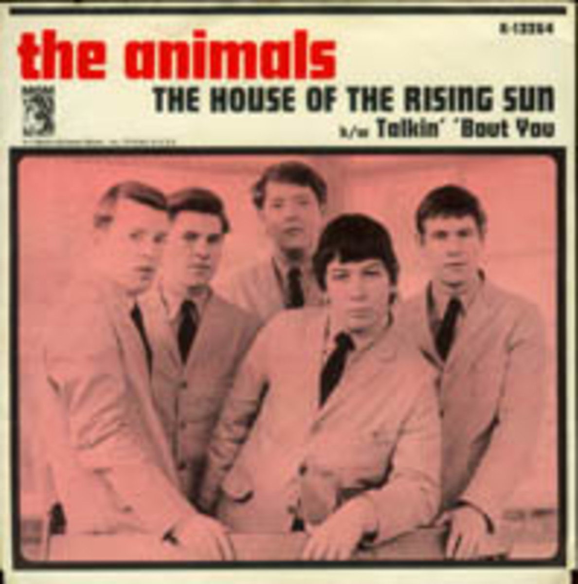 The Animals The House of The Rising Sun picture sleeve