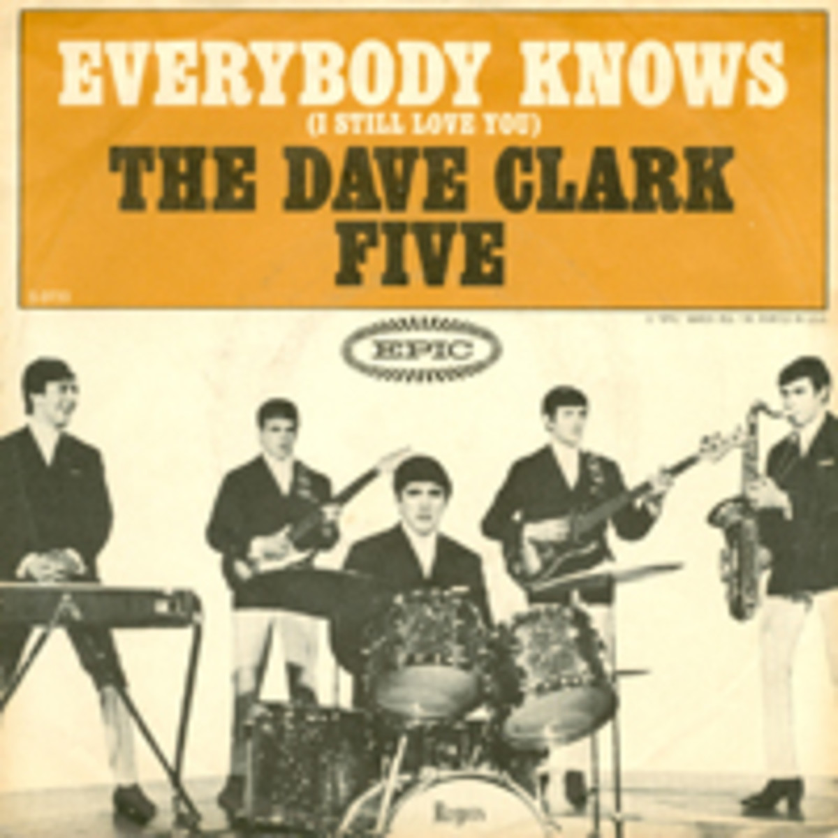 Dave Clark Five Everybody Knows Picture Sleeve