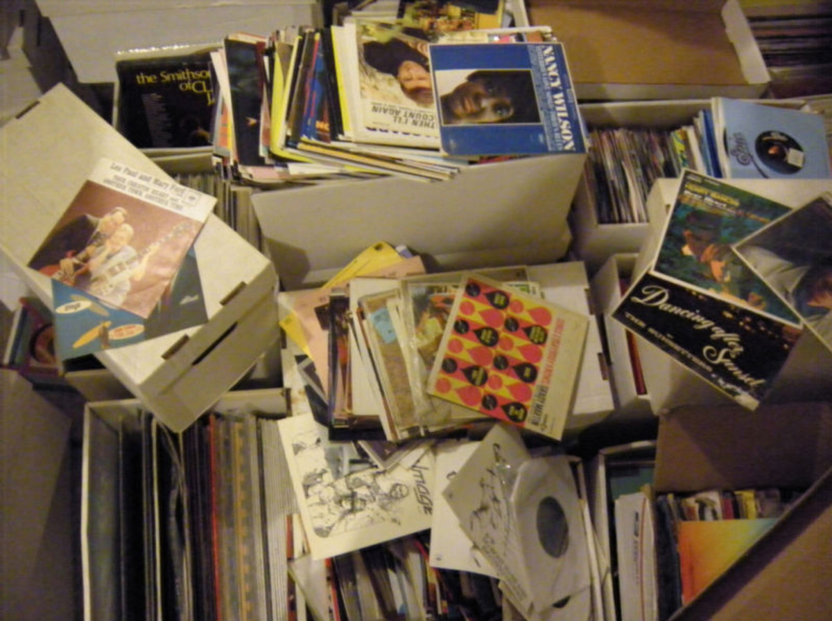 Lot of 40 thousand 45 RPM records