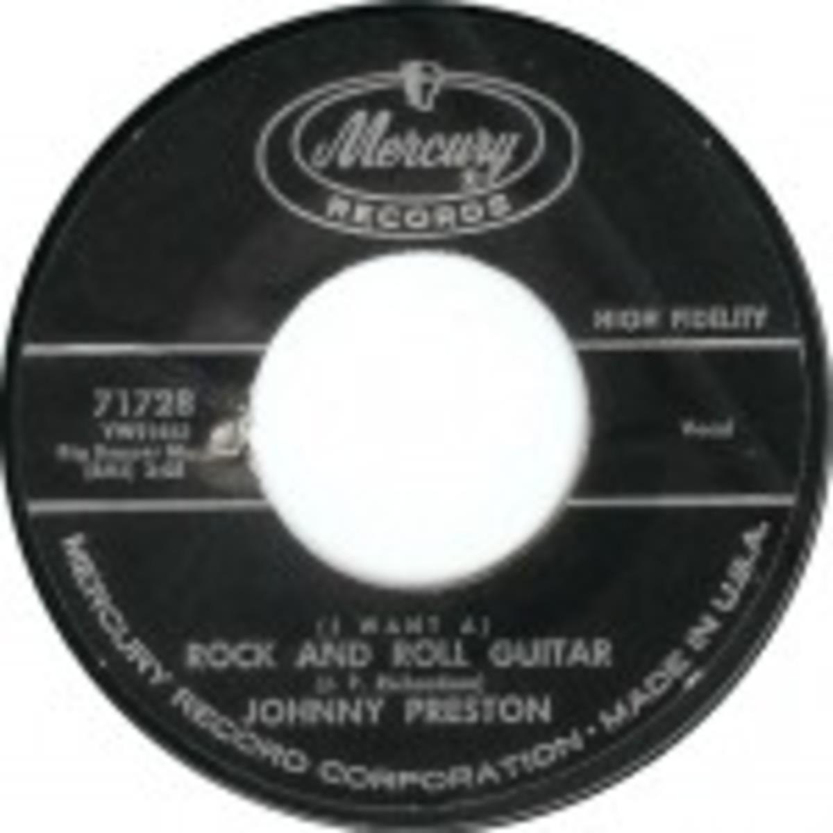 Johnny Preston I Want a Rock N Roll Guitar