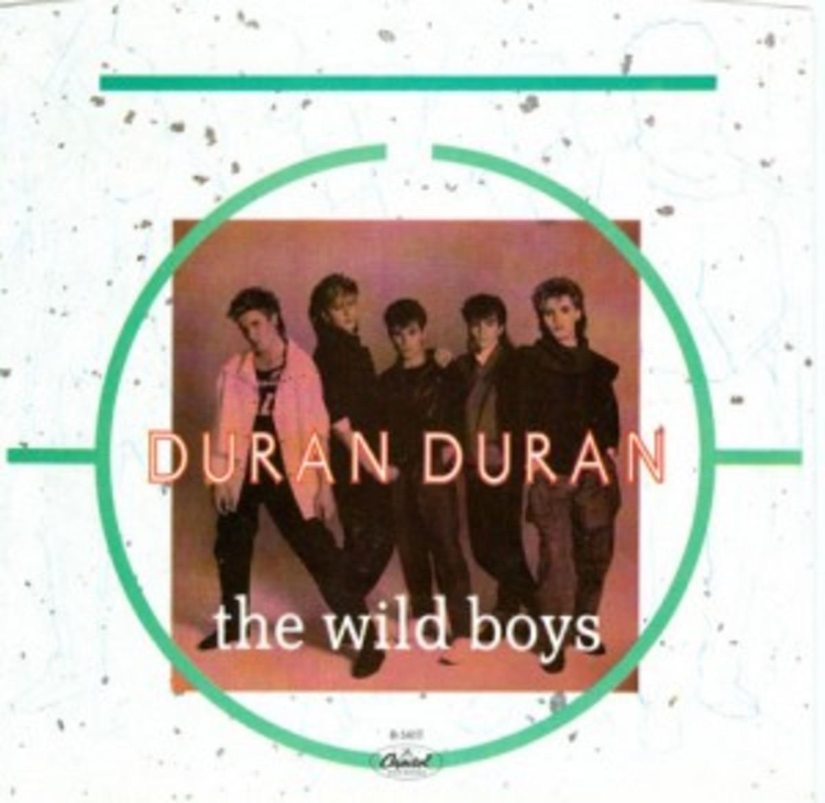Duran Duran The Wild Boys picture sleeve