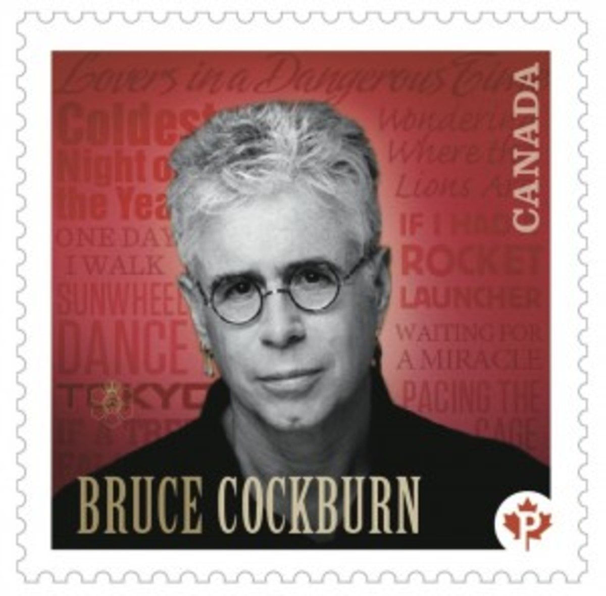 Bruce Cockburn stamp