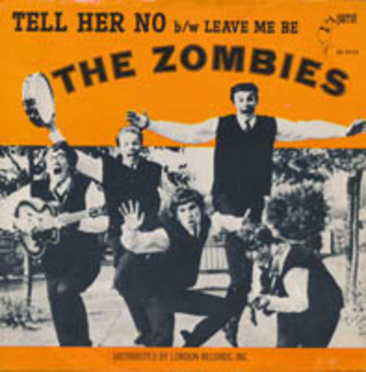 The Zombies Tell Her No picture sleeve