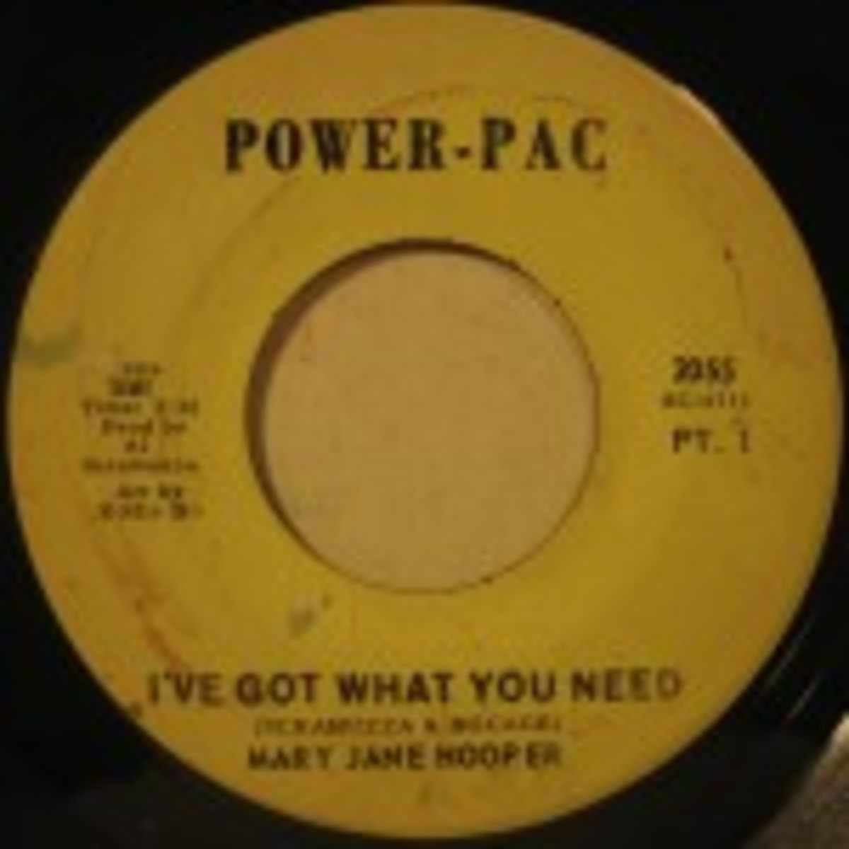 Mary Jane Hooper I've Got What You need Parts 1 and 2