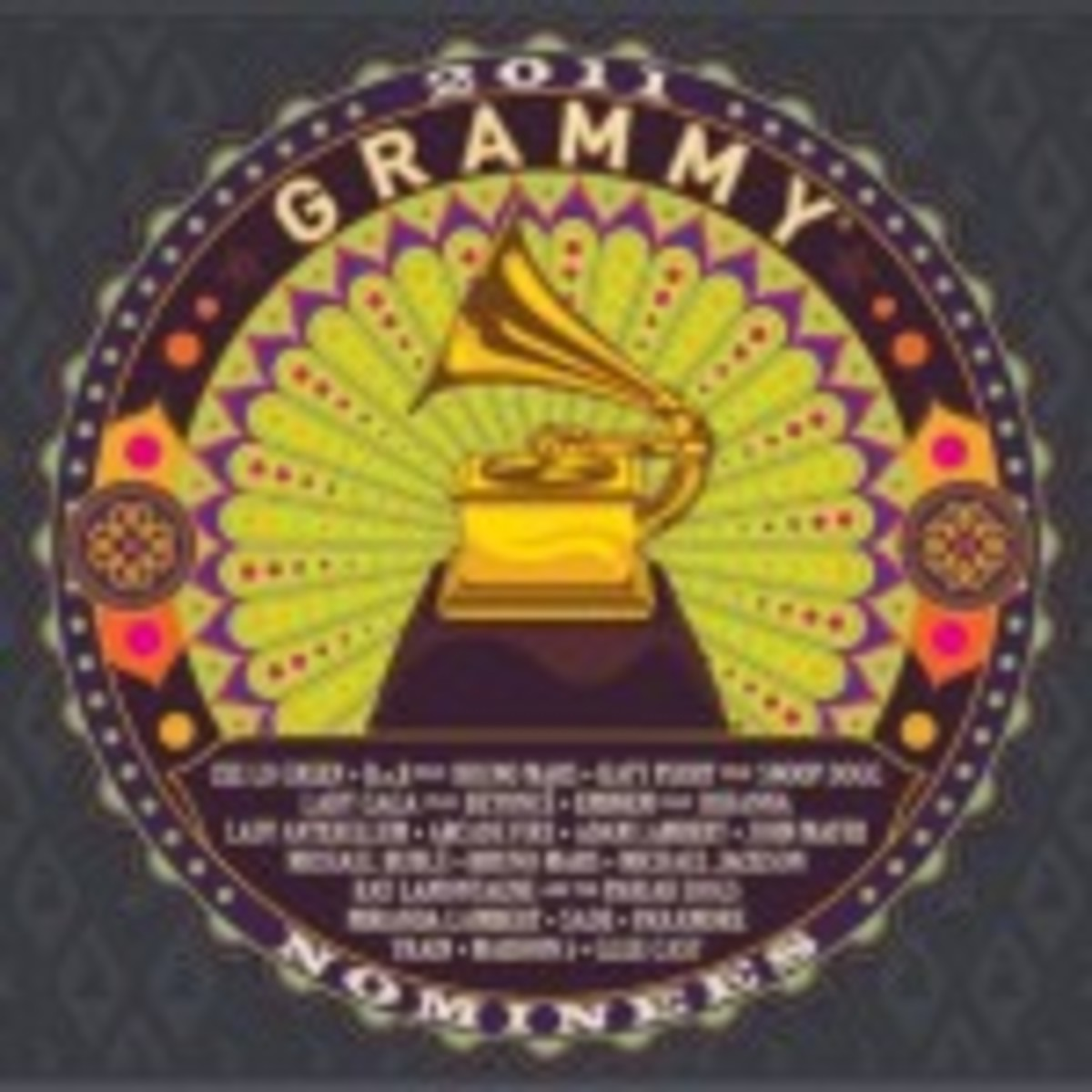 Grammy noms 2011 CD