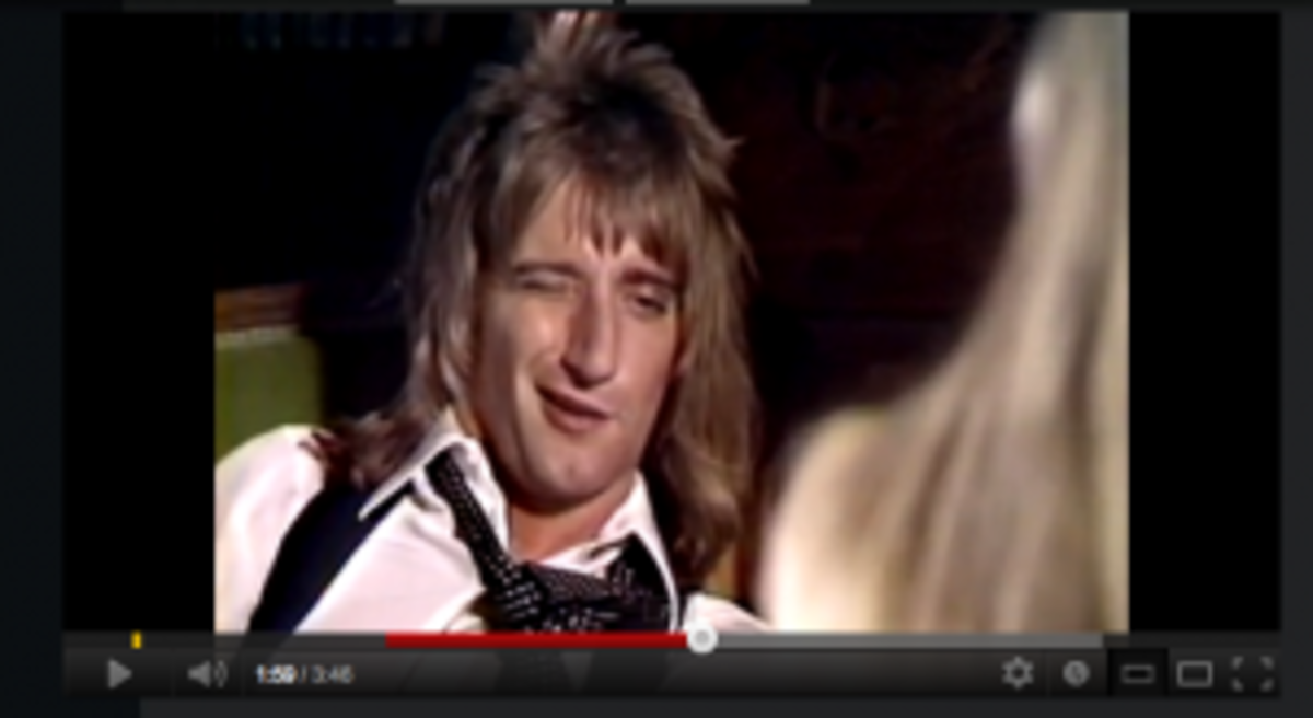 Rod Stewart Tonight's The Night video