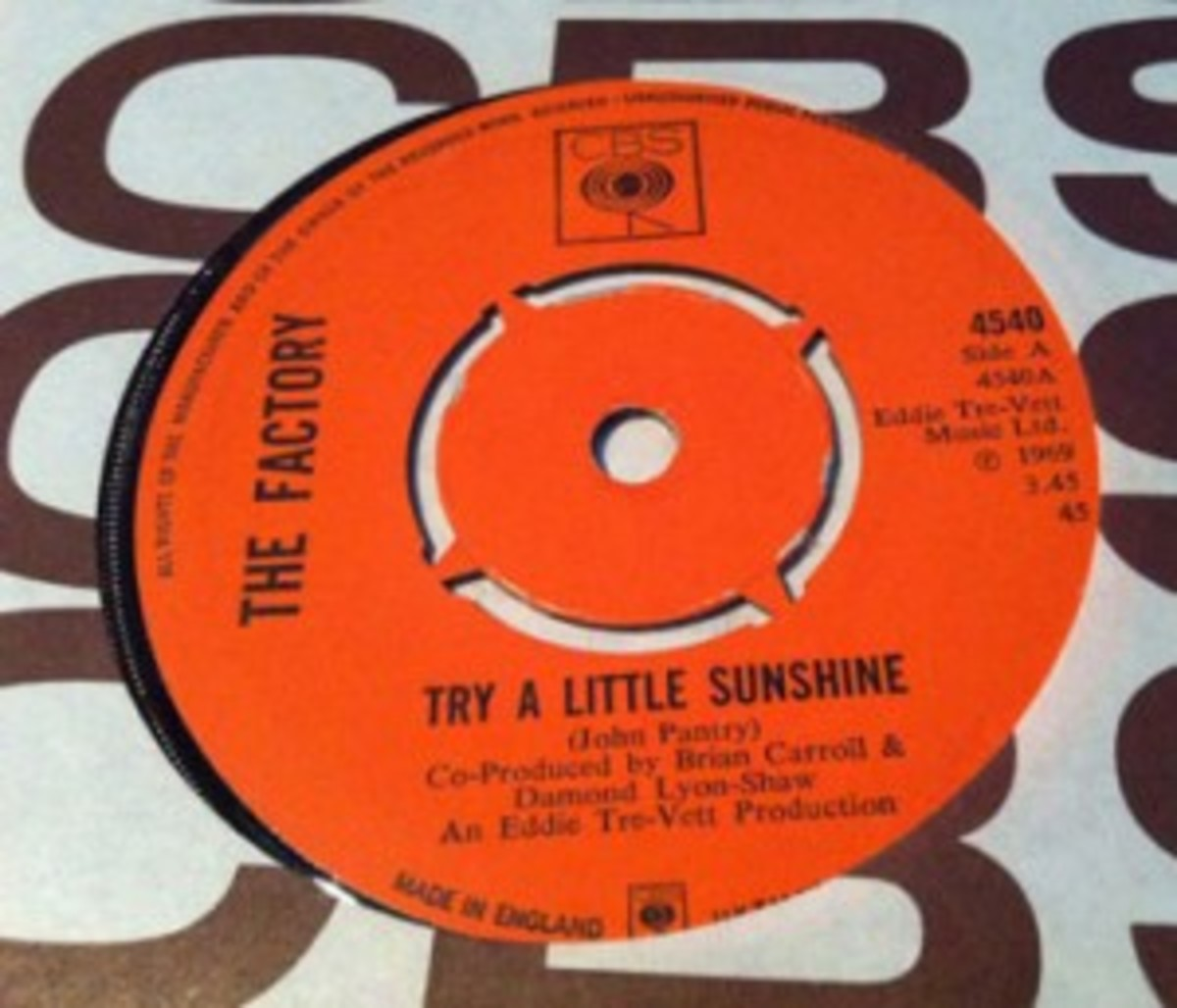 "The Factory ""Try A Little Sunshine"""