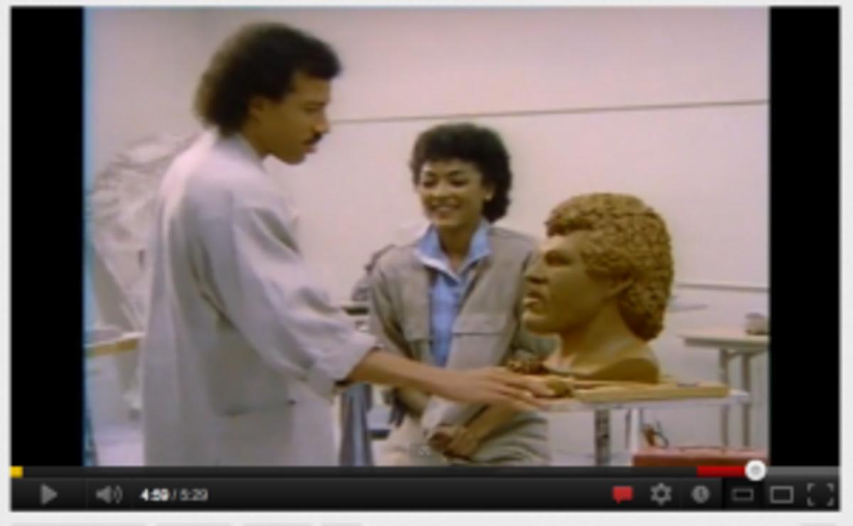 Lionel Richie Hello video