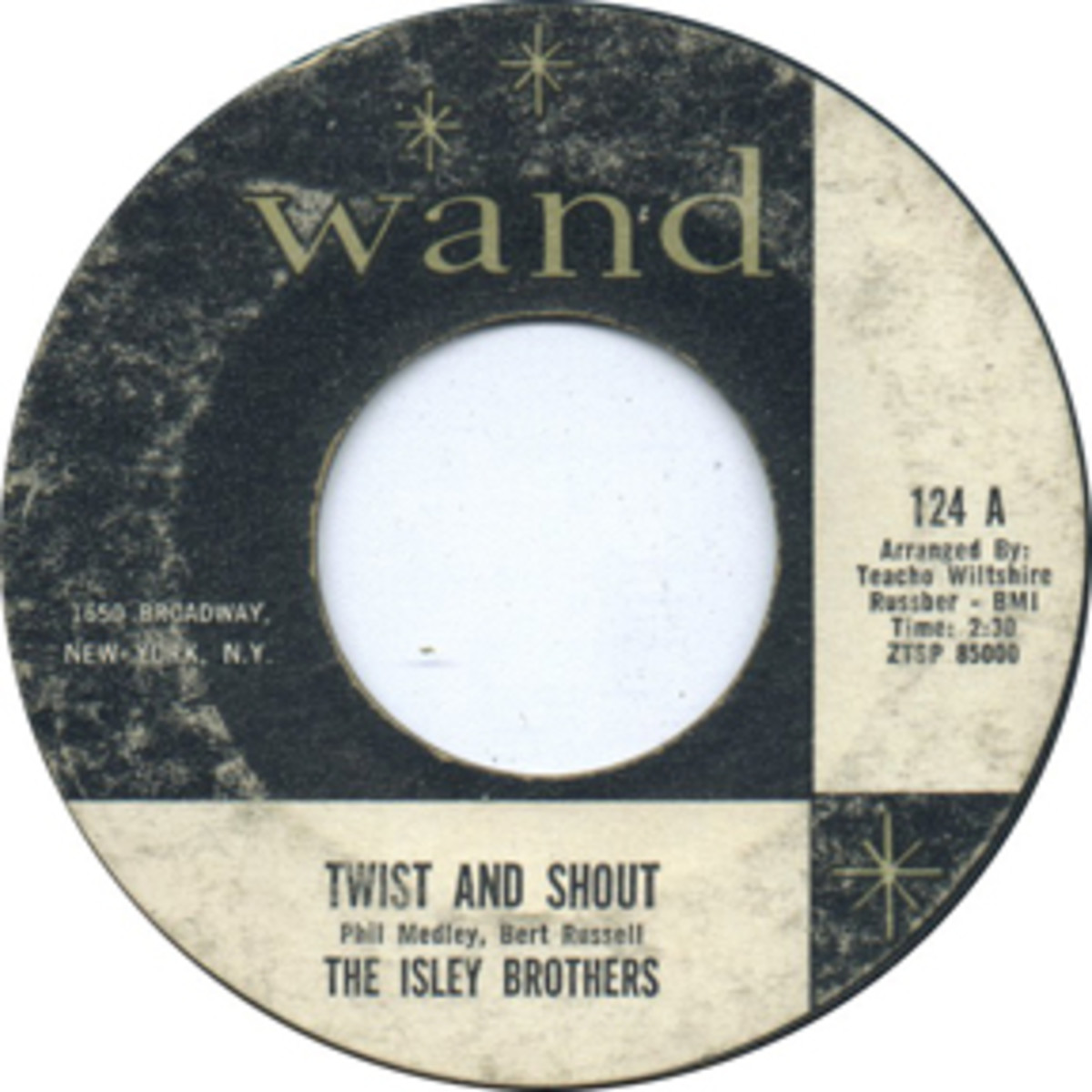 Isley Brothers Twist and Shout