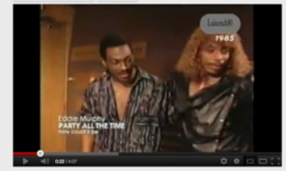 Eddie Murphy and Rick James Party All The Time