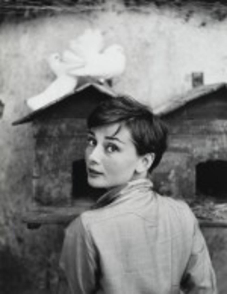 Audrey Hepburn Halsman Sothebys